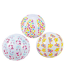 12 Mini Easter Beach Balls #37/1045