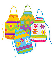 12 Child's Easter Aprons #37/1181