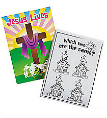 "12 ""He Lives!"" Activity Pads #37/1208"