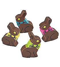 24 Chocolate Bunny Erasers #37/1226