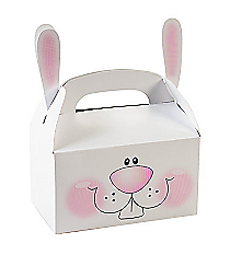 12 Bunny Treat Boxes with Ears #37/1230