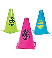 12 Easter Egg Traffic Cones #37/1328