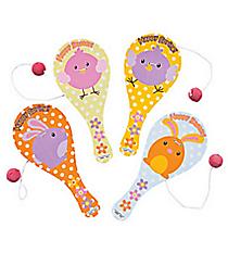 12 Easter Paddleball Games #37/1486