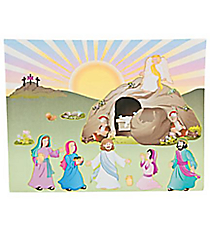 "12 ""He Lives!"" Easter Sticker Scenes #37/1963"