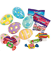 24 Candy-Filled Pastel Printed Eggs #37/380