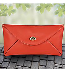 Coral Adalyn Envelope Clutch #37372