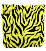 Neon Yellow Animal Print Tote Bag #14/802