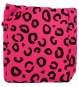 Neon Pink Animal Print Tote Bag #14/802