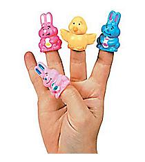 24 Vinyl Easter Finger Puppets #39/11240