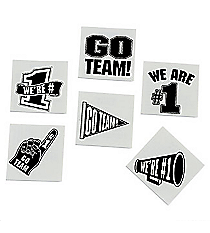 "72 Black ""Go Team"" Tattoos #39/2089"