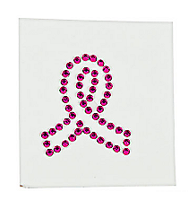 12 Pink Ribbon Jewel Tattoos #39/2179