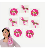 36 Pink Ribbon Camouflage Tattoos #39/2095
