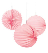 "One Dozen 10"" Pink Party Lanterns #3/2011"