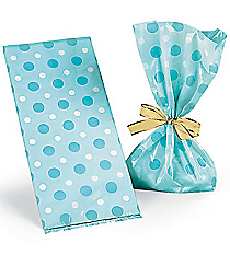 12 Blue Baby Boy Treat Bags #42/1165