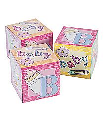 12 Baby Block Goody Boxes #42/1263