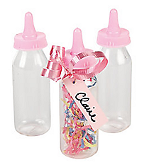 12 Mini Baby Bottle Containers #42/1286