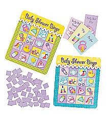 "8 ""Baby Shower Bingo"" Playing Cards #42/2630"