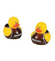 24 Mini Football Rubber Duckies #42/4323