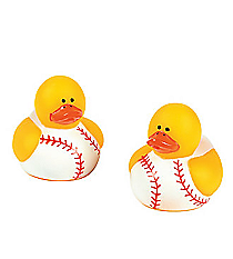 24 Mini Baseball Rubber Duckies #42/4325