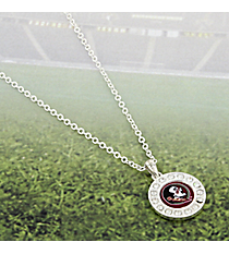 "18"" Crystal Accented Florida State University Necklace #43503-FSU"