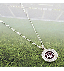 "18"" Crystal Accented Texas A&M University Necklace #43503-TEXASAM"