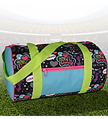 Cheer Print Duffle Bag #44018