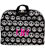 Black & White Large Peace Sign Garment Bag #GM40-607