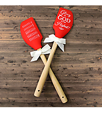 """""""Glory to God in the Highest"""" Silicone Spatula #46826"""
