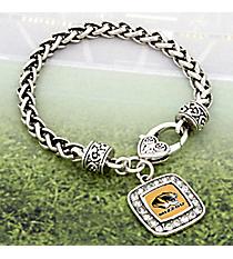 Crystal Accented University of Missouri Bracelet #47749-MISSOURI