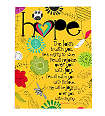 "Zephaniah 3:17 ""Hope"" Hardcover Journal #47939"