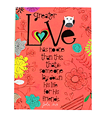 "John 15:13 ""Love"" Hardcover Journal #47946"