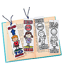 12 Color Your Own Anti-Bullying Bookmarks #48/8289