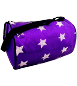 Purple Sequined Star Duffle Bag #CBG28286-PP