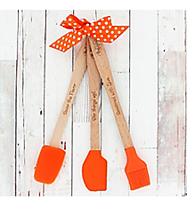 Orange Burst Mini Kitchen Tool Set #48240
