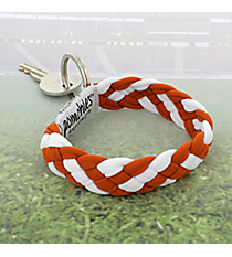 Burnt Orange and White Pomchies PomKey Keeper #48306