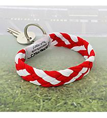 Red and White Pomchies PomKey Keeper #48318