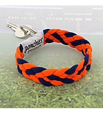 Orange and Navy Pomchies PomKey Keeper #48384