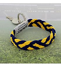 Navy and Yellow Gold Pomchies PomKey Keeper #48389