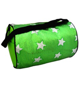 Green Sequined Star Duffle Bag #CBG28286-GR