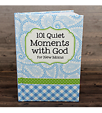 Blue 101 Quiet Moments with God for New Moms #48615