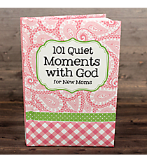 Pink 101 Quiet Moments with God for New Moms #48622
