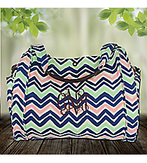 Multi-Color Chevron Glastonbury Tote #48671