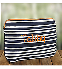 Navy Stripe Inner Techie Tablet Case #48964