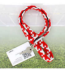 Red and White Pomchies PomLanyard #49318