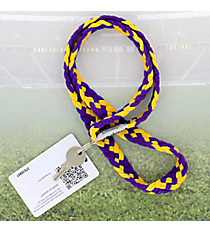 Purple and Gold Pomchies PomLanyard #49335