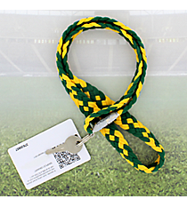 Green and Gold Pomchies PomLanyard #49386