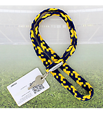 Navy and Gold Pomchies PomLanyard #49389