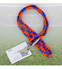 Orange and Royal Blue Pomchies PomLanyard #49396