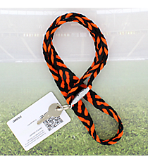 Black and Orange Pomchies PomLanyard #49405