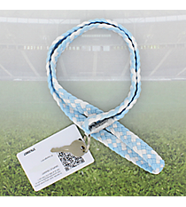 Light Blue and White Pomchies PomLanyard #49407